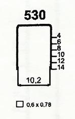 Čalounické spony 530/08 ZN