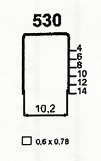 Čalounické spony 530/06 ZN